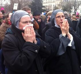 Nonnes gazées