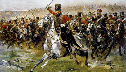 charge cavalerie française Friedland