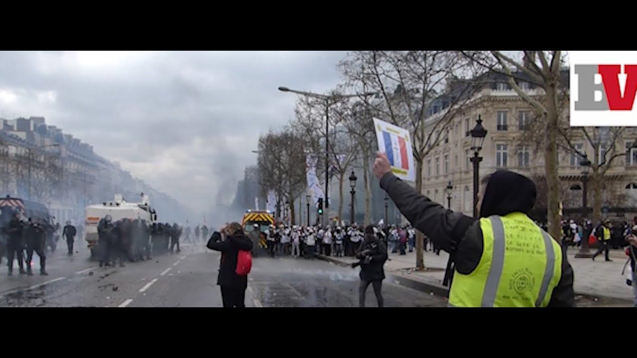 foto de Acte XVIII des gilets jaunes : avec les pacifistes