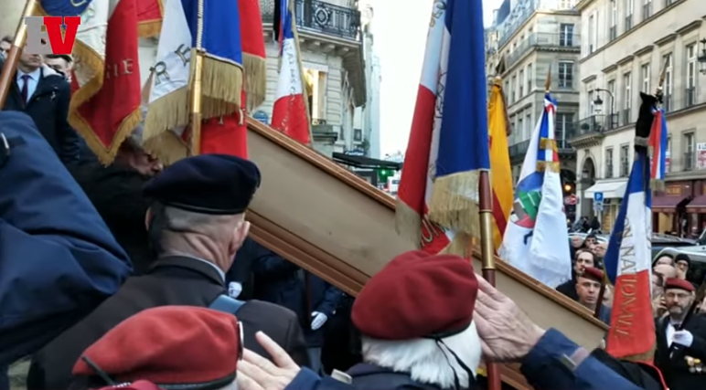 Roger HOLEINDRE alias ''POPEYE'' a rejoint Saint Michel Funerailles-holleindre